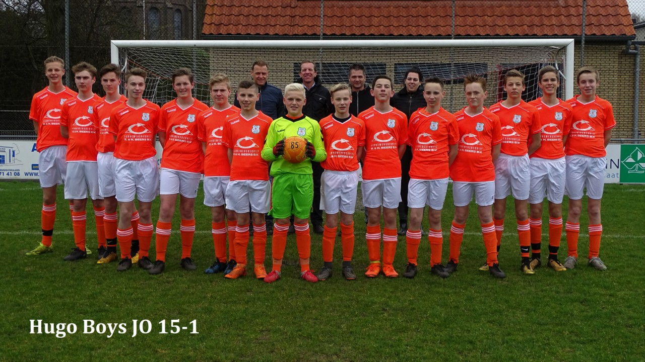 Teamfoto Hugo Boys JO15-1