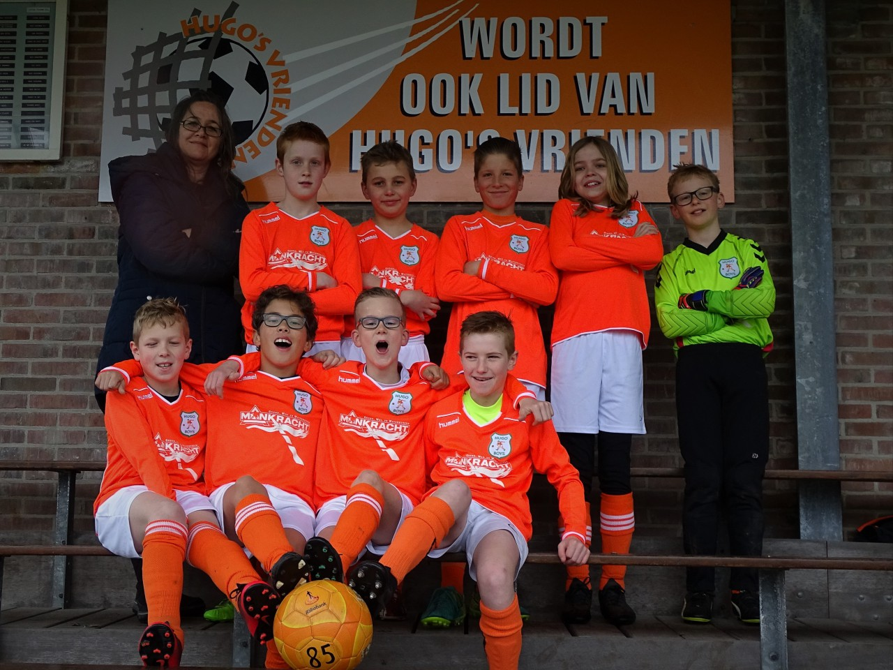Teamfoto Hugo Boys JO11-1